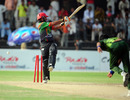Noor Ali Zadran was bowled by Mohammad Talha for 51, Pakistan A v Afghanistan, 3rd unofficial ODI, Faisalabad, May 29, 2011