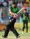 Shabir Noori plays the pull, Pakistan A v Afghanistan, 3rd unofficial ODI, Faisalabad, May 29, 2011