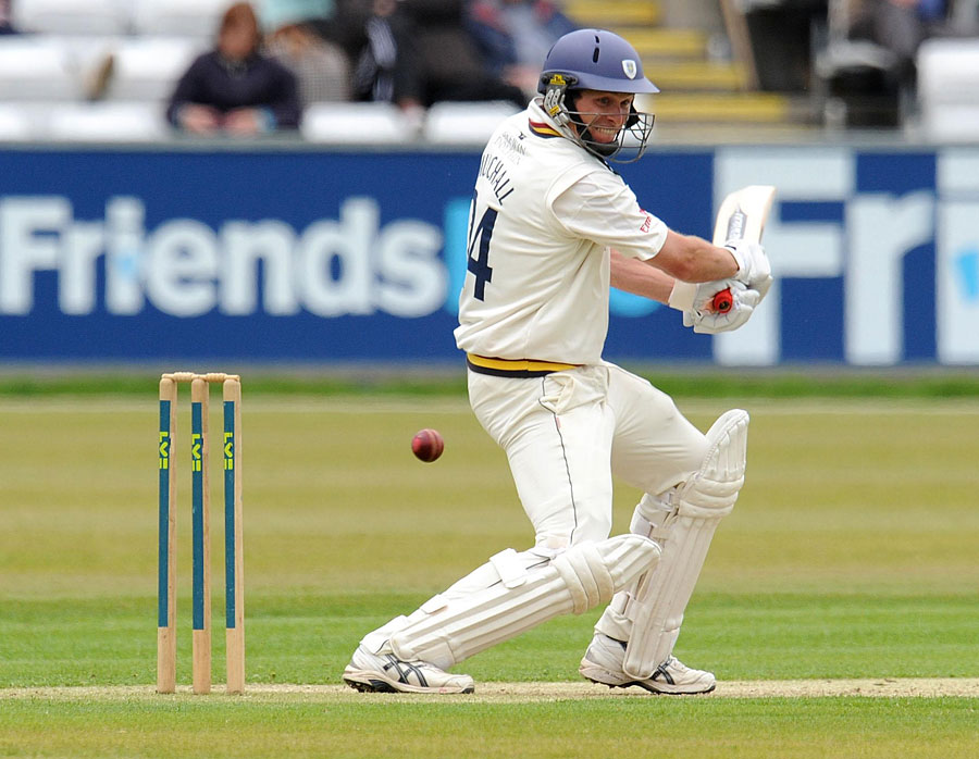 Gordon Muchall hit a useful 54 for Durham