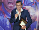Salim Durani addresses the gathering at the BCCI awards, Mumbai, May 31, 2011