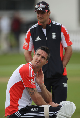 Andrew Strauss and Kevin Pietersen on the eve of the second Test, Lord's, June 2, 2011