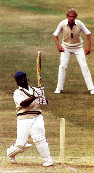 Duleep Mendis took on Ian Botham's short-ball challenge and smacked 111 and 94
