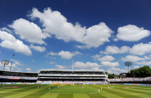 Perfect cricket weather on the first morning, England v Sri Lanka, 2nd Test, Lord's, June 3, 2011