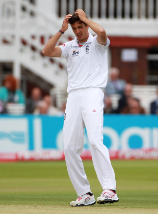 Steven Finn's problems continued at Lord's, England v Sri Lanka, 2nd Test, Lord's, June 5, 2011