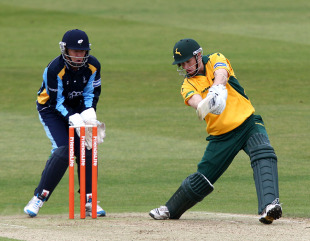 Adam Voges hit 74 off 46 balls against Yorkshire, Nottinghamshire v Yorkshire, Friends Life t20, Trent Bridge, June 5, 2011