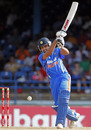 Rohit Sharma creams a drive through the covers, 1st ODI, Trinidad, June 6, 2011