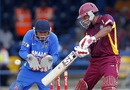 Ramnaresh Sarwan struck his second consecutive half-century