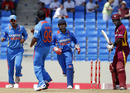 Danza Hyatt was bowled by Amit Mishra's googly, West Indies v India, 3rd ODI, Antigua, June 11, 2011