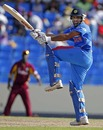 Rohit Sharma swivels to play one behind square, West Indies v India, 3rd ODI, Antigua, June 11, 2011