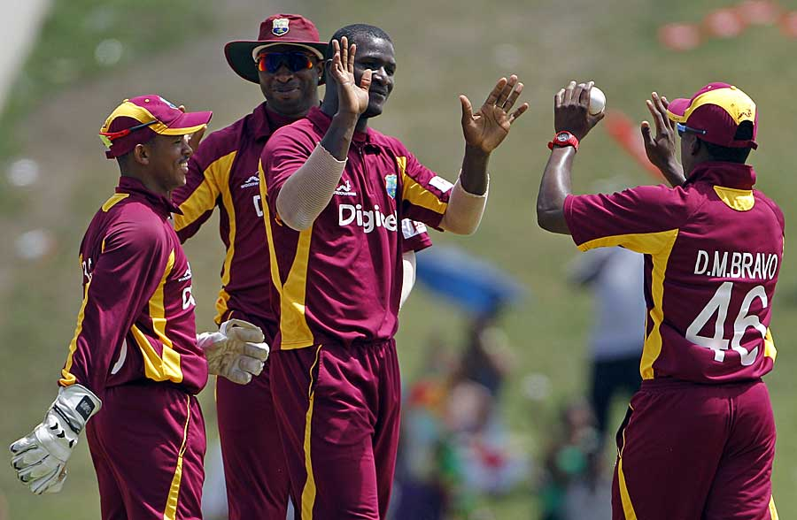 Darren Sammy, yet again, delivered the early breakthroughs for West Indies