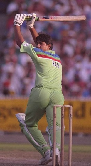 Inzamam-ul-Haq hits out, Pakistan v England, World Cup final, March 1992