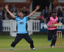 Chris Liddle took four wickets to hasten Middlesex's defeat, Middlesex v Sussex, Friends Life t20, Lord's, June 16 2011