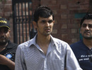 Zulqarnain Haider arrives for his disciplinary hearing, Lahore, June 17, 2011