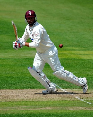 Marcus Trescothick was the first batsman to reach 1000 Championship runs, Warwickshire v Somerset, County Championship, Division One, Edgbaston, June 20, 2011