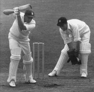 John Waite keeps wicket for South Africa against England, England v South Africa, 3rd Test, Trent Bridge, July 7, 1960