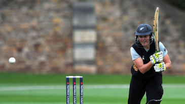 Liz Perry top scored for New Zealand with an unbeaten 48