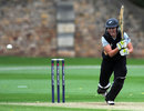 Liz Perry top scored for New Zealand with an unbeaten 48, India Women v New Zealand Women, NatWest Women's T20 Quadrangular Series, Bristol, June 25, 2011