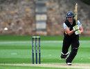 Liz Perry top scored for New Zealand with an unbeaten 48, India Women v New Zealand Women, NatWest Women's T20 Quadrangular Series, Bristol, June 25, 2011