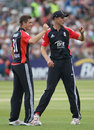 Stuart Broad and Chris Woakes had tough days in their respective roles, England v Sri Lanka, only Twenty20, Bristol, June 25, 2011