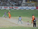 Lahore Lions defeated Sialkot Stallions in a high scoring game at Iqbal Stadium, Faisalabad, June 25, 2011