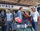 Callum Ferguson and Jason Gillespie arrive in Zimbabwe, Harare, June 26, 2011