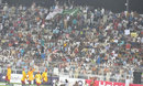 A packed crowd in Faisalabad watches the Faysal Bank T20 tournament, Multan v Rawalpindi, Faysal Bank Super Eight T-20 Cup, Faisalabad, June 28, 2011