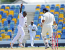 West Indies hang on for a grim draw