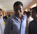 Danish Kaneria at the Sindh High Court, Karachi, July 4, 2011