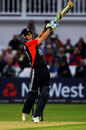 After taking time to get his eye in Craig Kieswetter unfurled some big shots, England v Sri Lanka, 4th ODI, Trent Bridge, July 6 2011
