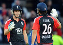 Alastair Cook and Craig Kieswetter shared 171 opening stand as England sealed a 10-wicket win, England v Sri Lanka, 4th ODI, Trent Bridge, July 6 2011