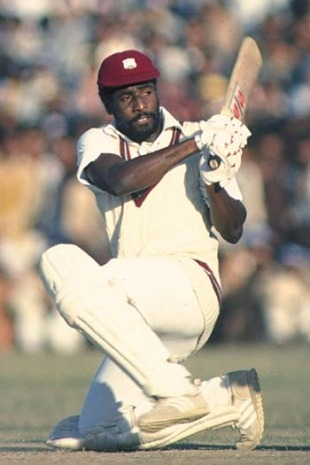 Viv Richards smoked the Indians on his way to a 36-ball 61