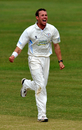 Tony Palladino bowled Derbyshire to victory with 5 for 50, Derbyshire v Glamorgan, Derby, 4th day, July 14 2011
