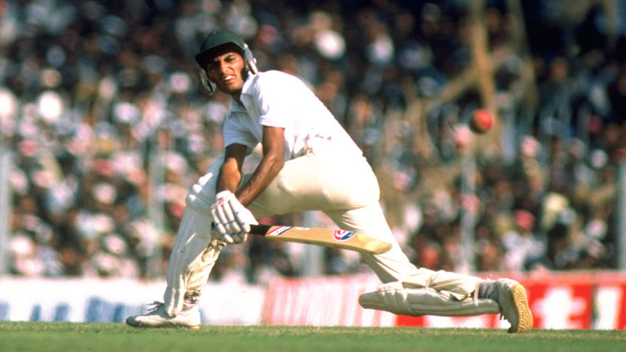 Mohammad Azharuddin during England's tour of India in 1984-95