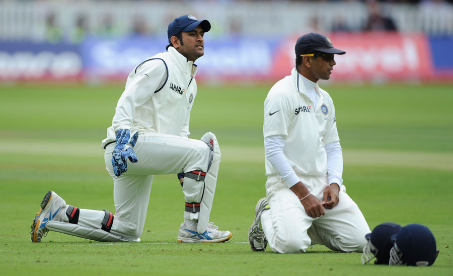 'Dhoni led by example, not rhetoric' - Dravid