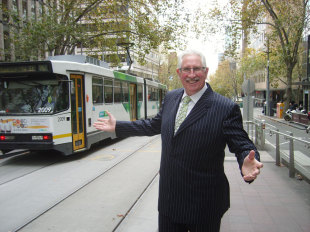 Max Walker in Melbourne