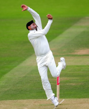Harbhajan Singh struggled for wickets, England v India, 1st Test, Lord's, 2nd day, July 22, 2011