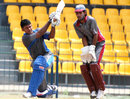 Jeevantha Kulatunga swings on the leg side during his unbeaten 69, Basnahira v Ruhuna, Sri Lanka Cricket Inter-Provincial Twenty20, R Premadasa Stadium, Colombo, July 27, 2011
