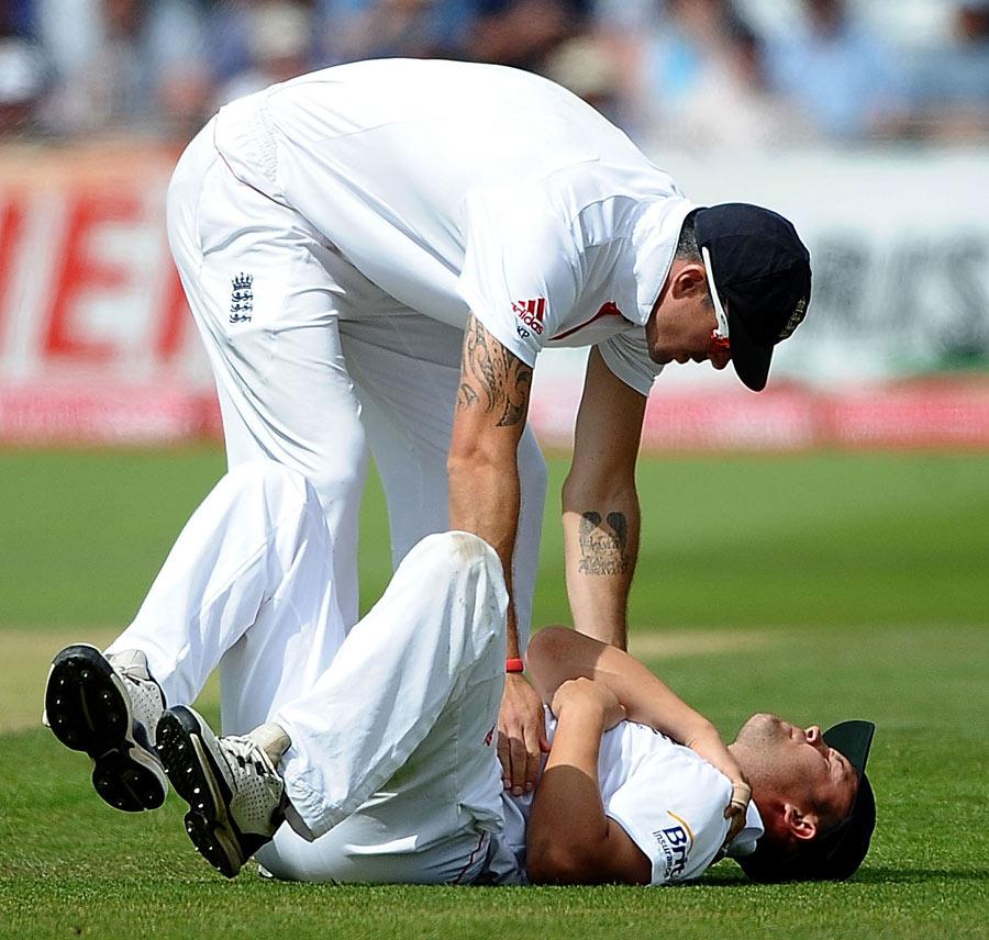 135476 - England hopeful of Trott's fitness