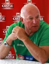 Alan Butcher speaks to the media on the eve of Zimbabwe's return to Tests, Harare, August 1 2011