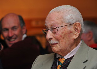 Norman Gordon, the first Test cricketer to have lived 100 years, is the lone survivor from the final timeless Test