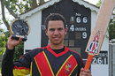 Christopher Kent scored an unbeaten 166 off just 131 balls, Canada U-19s v Papua New Guinea U-19s, Eglinton, August 6, 2011