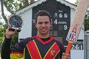Christopher Kent scored an unbeaten 166 off just 131 balls, Canada U-19s v Papua New Guinea U-19s, Eglinton, August 6, 2011