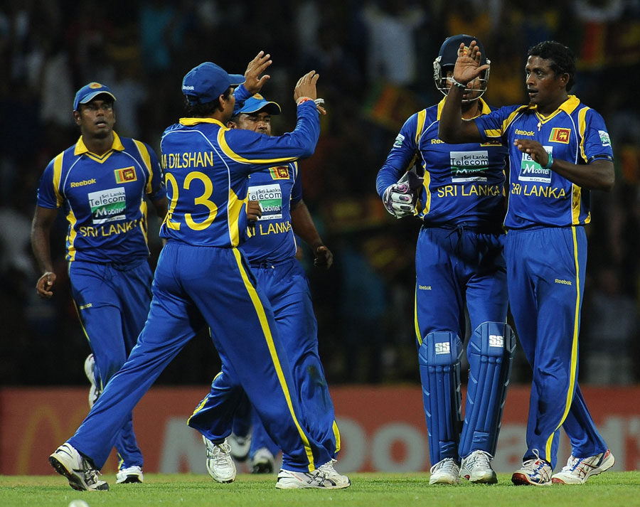 Ajantha Mendis dented the chase with three quick strikes