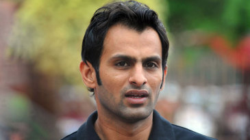 Shoaib Malik after his meeting with the PCB's integrity committee