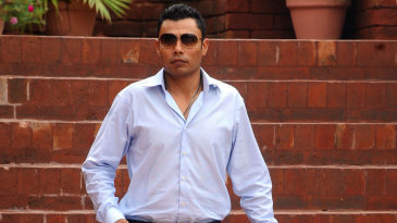 Danish Kaneria after his meeting with the PCB integrity committee