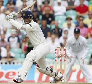 The ability to leave the ball alone was as important to Rahul Dravid's batting style as any other stroke