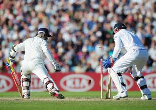 Sehwag's dismissal on day four at The Oval tells the story of the gap between the two sides