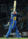 Chamara Silva got to a fifty off 51 balls, Sri Lanka v Australia, 5th ODI, Colombo, August 22, 2011