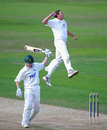 Mitchell Claydon took five wickets, including Chris Read, but Nottinghamshire held control