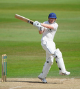 Mark Stoneman pulls during his 74 against Nottinghamshire, Nottinghamshire v Durham, Trent Bridge, 3rd day, August 24 2011